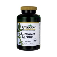 Swanson Premium Sunflower Lecithin 1,200Mg 90 Softgels