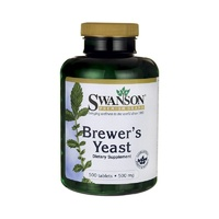Swanson Premium Brewer's Yeast 500mg 500 Tablets