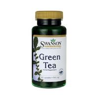 Swanson Green Tea 500mg 100 Capsules