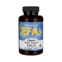 Swanson EFAs Black Currant Seed Oil GLA (OmegaTru) 180 Softgels