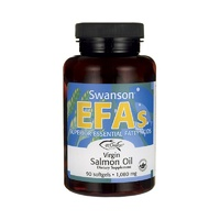 Swanson EFAs Virgin Salmon Oil (ecOmega) 1080mg 90 Softgels