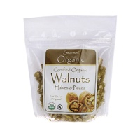 Swanson Certified Organic Walnuts, Halves & Pieces 170gm