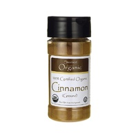 Swanson Organic 100% Certified Organic Cinnamon (Ground) Powder 42.5g 1.5 oz