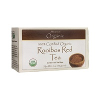 Swanson 100% Certified Organic Rooibos Red Tea 20 Bags