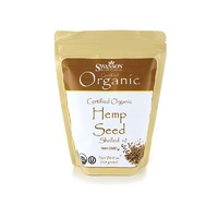 Swanson Certified Organic Hemp Seed Shelled 425gm