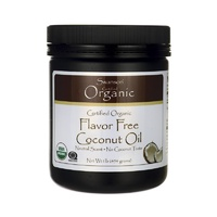 Swanson Certified Organic Flavour Free Coconut Oil 454gm