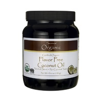 Swanson Certified Organic Flavour Free Coconut Oil 1.53kg