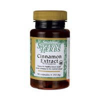 Swanson Superior Herbs Cinnamon Extract 250mg 90 Capsules