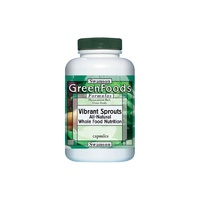 Swanson GreensFoods Formulas Vibrant Sprouts 500mg 60 Veggie Capsules