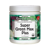 Swanson GreenFoods Formulas Super Green Max Plus Powder 255g  9 oz
