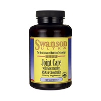 Swanson Ultra Joint Care with Glucosamine, MSM & Chondroitin 120 Softgels