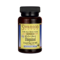 Swanson Ultra Ubiquinol 100% Pure & Natural 100Mg 60 Softgels