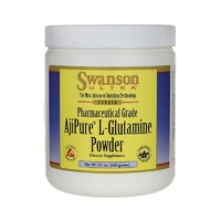 Swanson Ultra AjiPure L-Glutamine Powder 12Oz (340gm)