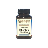 Swanson Ultra Maximum Strength Nattokinase 4,000 Fibrinolytic Units 200mg 30 Caps