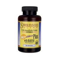 Swanson Ultra ActiJoint Plus with Krill Oil 60 Softgels