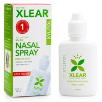 Xlear Inc (Xclear), Xylitol Saline Nasal Spray, .75 fl oz (22 ml)
