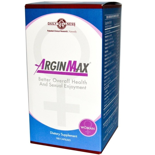 Daily Wellness Company ArginMax for Women 180 Capsules