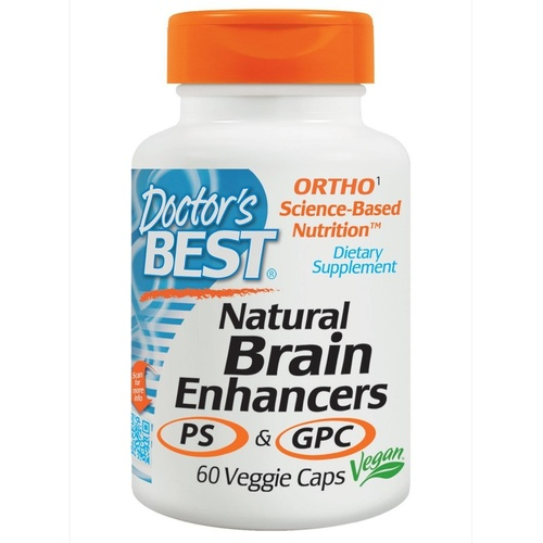 Doctor's Best Natural Brain Enhancers 60 VCaps - Dietary Supplement