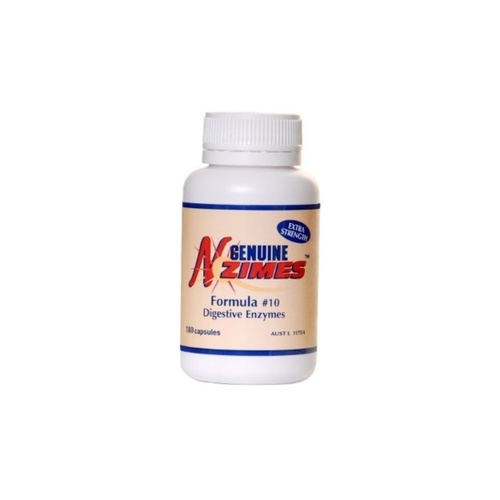 Genuine N Zimes Formula No. 10 180 Capsules - Health Supplement