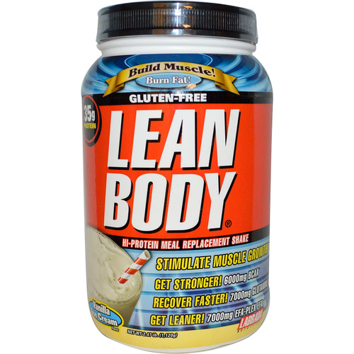 Labrada Nutrition, Lean Body, High Protein Shake, Vanilla Ice Cream, 1.120 kg