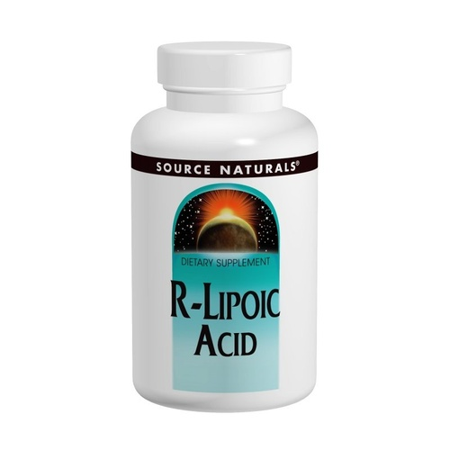 Source Naturals R-Lipoic Acid 50mg  60 Tablets - Dietary Supplement