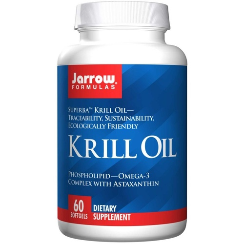 Jarrow Formulas, Krill Oil, 60 Softgels - Dietary Supplement