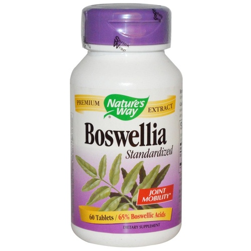 Nature's Way, Boswellia, Standardised, 60 Tablets