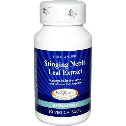 Enzymatic Therapy Nettle Leaf Extract Respiratory 90 Veggie Capsules
