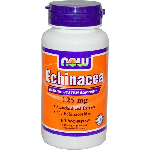 Now Foods, Echinacea, 125 mg, 60 VCaps