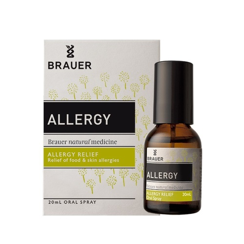 Brauer, Natural Medicine, Allergy Relief, Oral Spray, 20 ml