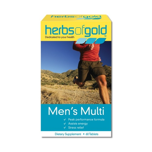 Herbs of Gold, Men's Multi, 60 Tablets