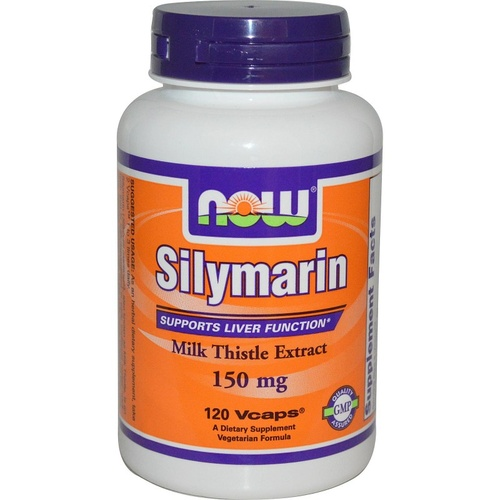 Now Foods, Silymarin, Milk Thistle Extract, 150 mg, 120 Vcaps