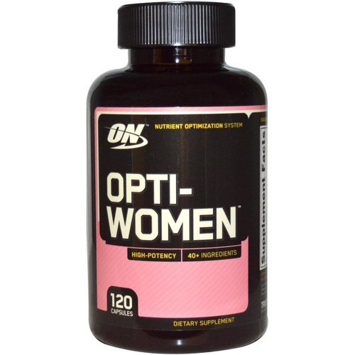 Optimum Nutriton Opti-Women Nutrient Optimisation System 120 Caps