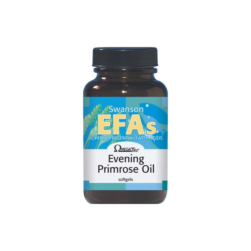 Swanson EFAs Evening Primrose Oil (OmegaTru) 1300mg 100 Softgels