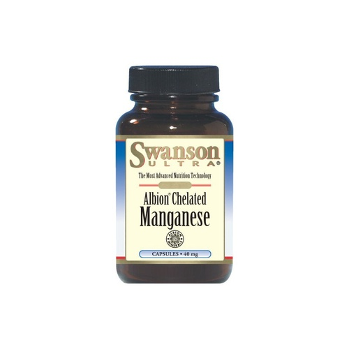 Swanson Ultra Albion Chelated Manganese 40mg 180 Capsules