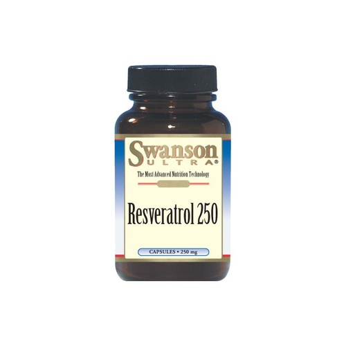 Swanson Ultra Resveratrol 250mg 30 Capsules - Dietary Supplement